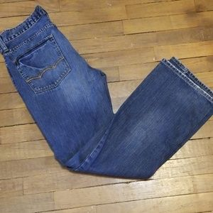 American Eagle low-rise bootcut jeans